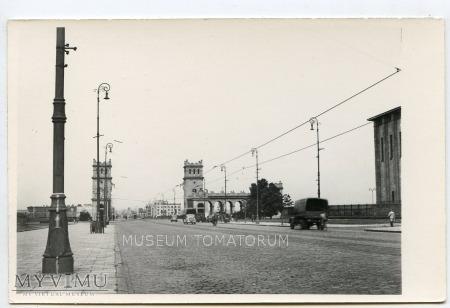 W-wa - III Most - Poniatowskiego - 1950-te