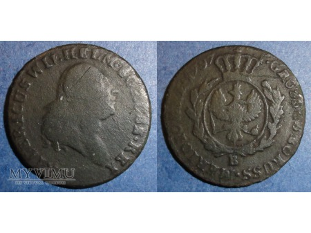 1797 grosz Prusy Południowe