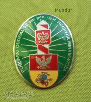 Odznaka pamiątkowa: Podlaski Oddział SG