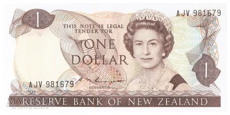 Nowa Zelandia - 1 dolar (1985)