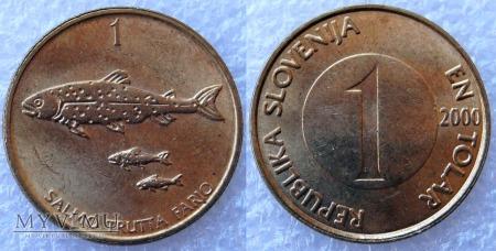 Słowenia, 1 TOLAR 2000