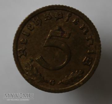 5 pfennig 1938