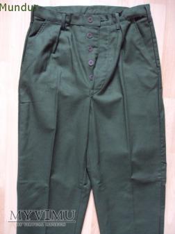 Szwecja: spodnie robocza