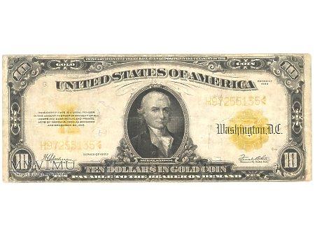 10 USD 1922 GOLD COIN