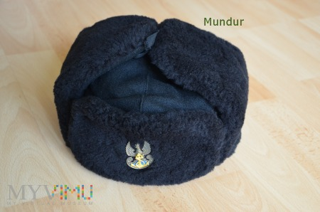 Czapka futrzana oficerska MW wz.415/MON - uszanka