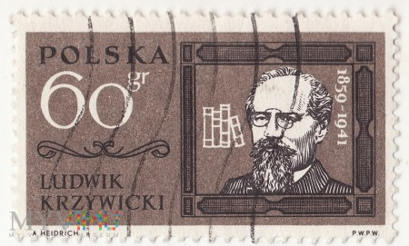 Ludwik Krzywicki - Polska 1963, 60gr