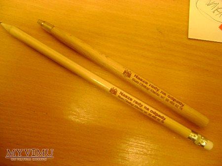 PUM Grudziądz długopis i ołówek