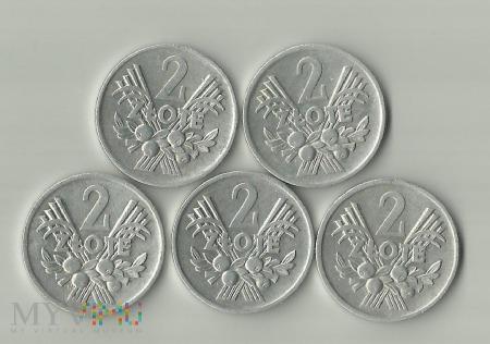 Polska 2 złote, 1970 / 1971 / 1972 / 1973 /