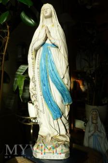 Matka Boża z Lourdes gipsowa
