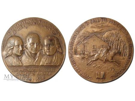150-lecie Metod. Kościoła Episkopalnego medal 1934