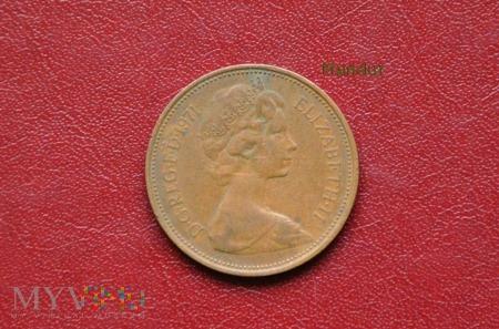 Moneta brytyjska: 2 pence 1971