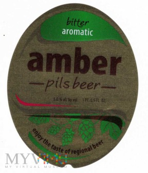 Duże zdjęcie amber pils beer