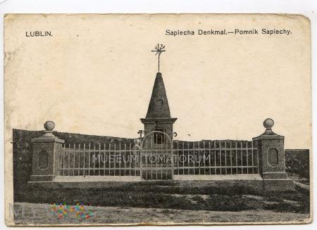 Lublin - Pomnik Sapiehy