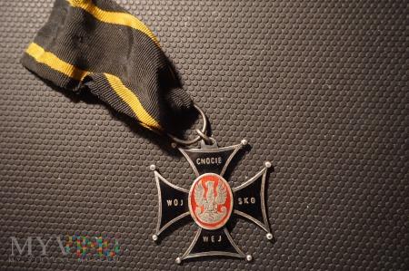 Krzyż - Cnocie Wojskowej -