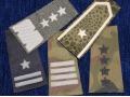 Zobacz kolekcję Dystynkcje - pochewki z oznakami stopnia