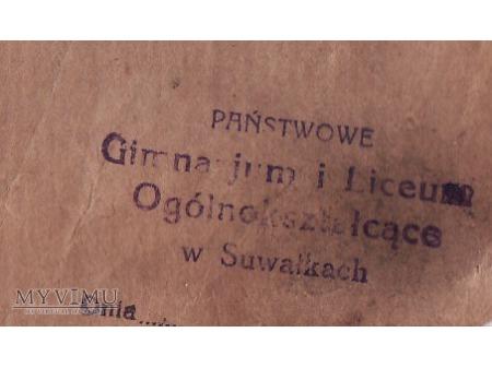 Bibl.Gimn.im.K.Brzostowskiego-Suwałki(?)