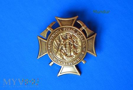 Odznaka pamiątkowa OSP w Warzycach