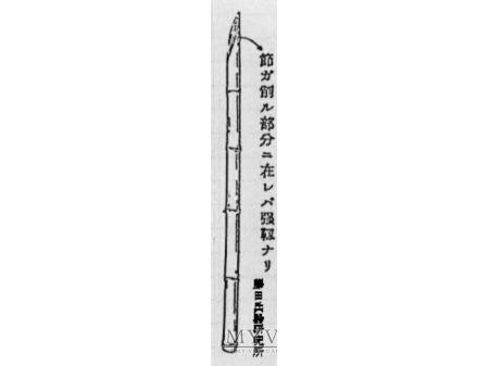 Japoński bagnet treningowy Arisaka.