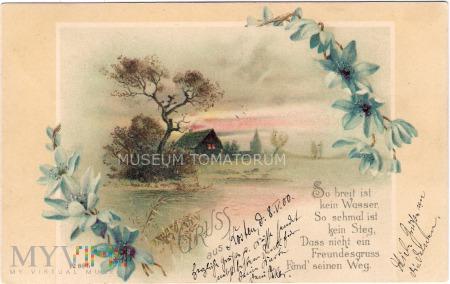 Pocztówka okolicznościowa 1900