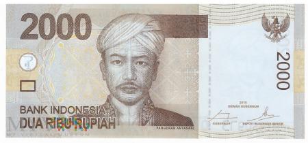 Duże zdjęcie Indonezja - 2 000 rupii (2016)