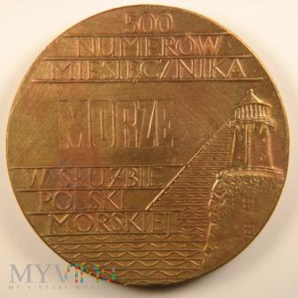 1972 - 2/72 Br - 500 Numerów Miesięcznika Morze