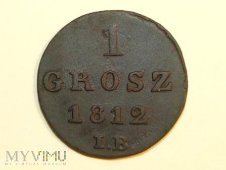 1 grosz 1812