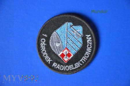 Duże zdjęcie Oznaka 1 Ośrodek Radioelektroniczny