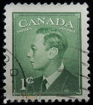 Kanada 1c Jerzy VI
