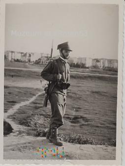 Kapral 38 PPSL w rezerwie. 6.06.1937 r. Warszawa