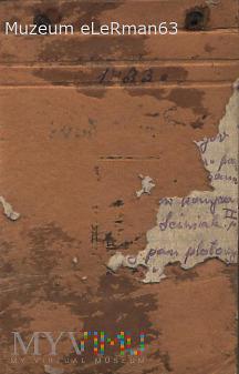 Notes żołnierza 38 PPSL. Przemyśl. 1933 r.