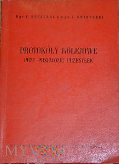 1967 - Protokóły kolejowe przy przewozie przesyłek