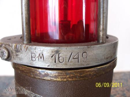 LAMPA GÓRNICZA BENZYNOWA - typ Lb-1A - 1949