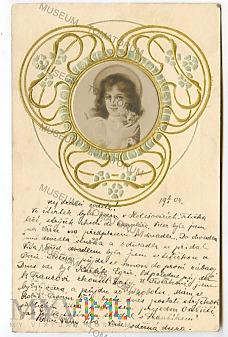 Pocztówka artystyczna 1904