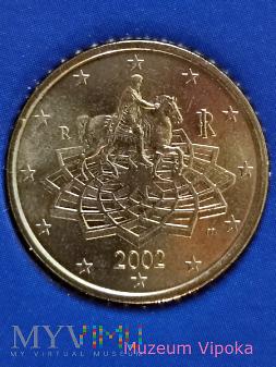 0,5 € z pomnikiem konnym Marka Aureliusza