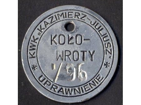 Duże zdjęcie Obsługa kołowrotów KWK Kazimierz-Juliusz