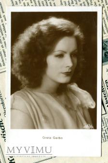 Duże zdjęcie Greta Garbo IRIS Verlag nr 5971 Vintage Postcard