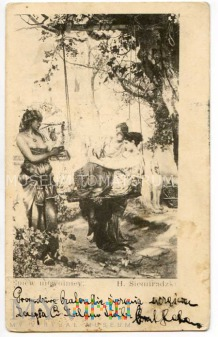 Siemiradzki - Życie w haremie - 1904