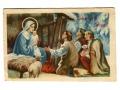 Wesołych Świąt Żłobek Jezus Święta Rodzina