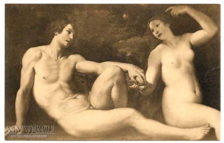 Fr. Albani - Adam i Ewa w ziemskim raju