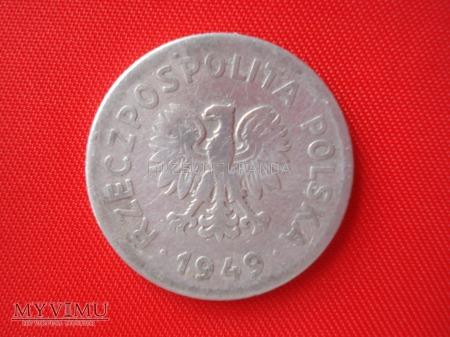 1 złoty 1949 rok
