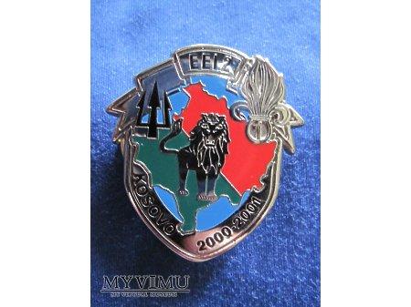 (4e escadron), opération TRIDENT, 2000 - 2001.
