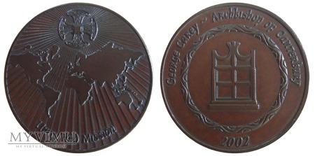 Duże zdjęcie Arcybiskup George Carey medal 2002