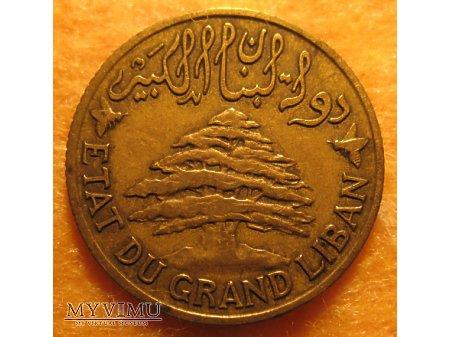 5 PIASTRES - Liban (1925)