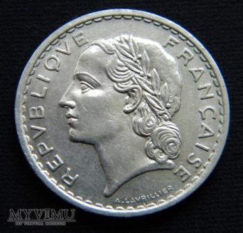 5 Francs 1935