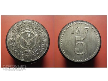 BNIN (Bnin) 5 1917, Zn,