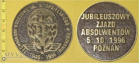 Medal kolejowy - usługowy Tech. Kol. w Poznaniu