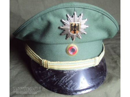 Czapka oficera starszego Bundespolizei