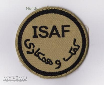 Duże zdjęcie Emblemat misyjny ISAF
