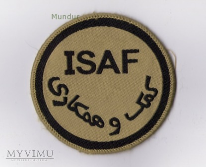 Emblemat misyjny ISAF