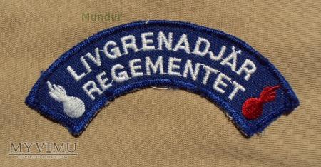 Oznaka organizacyjna: LIVGRENADJAR REGEMENTET